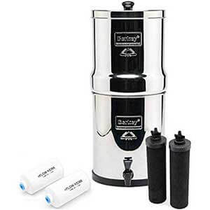 Berkey Countertop Water Filter System