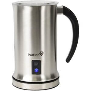 Ivation Cordless Automatic Electric Milk Frother