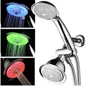 Luminex by PowerSpa Shower Head Combo