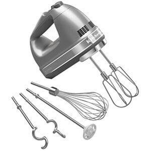 KitchenAid KHM926CU 9-Speed Digital Hand Mixer