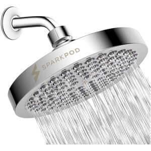 SparkPod Shower Head - High-Pressure Rain