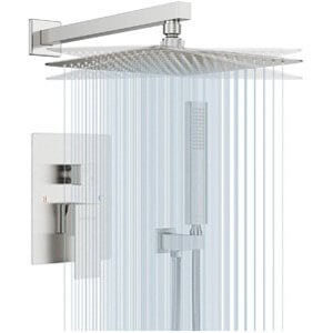 EMBATHER Shower System- Brushed Nickel