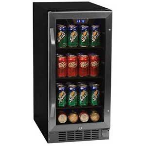 EdgeStar CBR901SG 80 Can Beverage Cooler