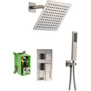 SUMERAIN Shower Faucet Brushed Nickel