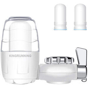 KINGRUNNING Faucet Water Filter