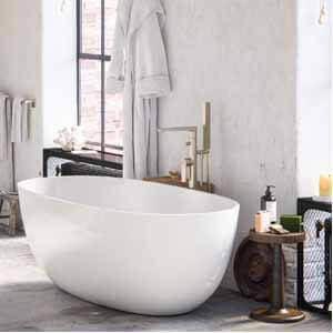 MAYKKE Barnet 61 Acrylic Bathtub