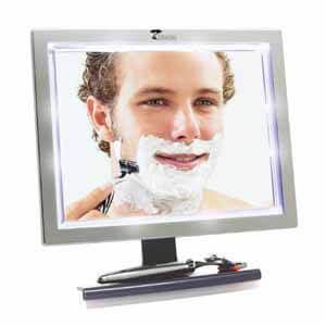 ToiletTree Products LED Fogless Shower Mirror