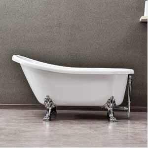 WOODBRIDGE Slipper Clawfoot Bathtub