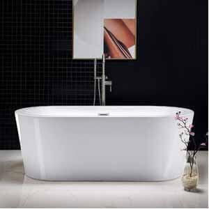 Woodbridge 67 Acrylic Freestanding Bathtub