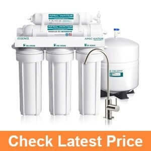 APEC Top-Tier 5-Stage Ultra Safe Reverse Osmosis Water Filter