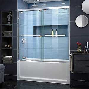 DreamLine Encore Semi-Frameless Bypass Tub Door