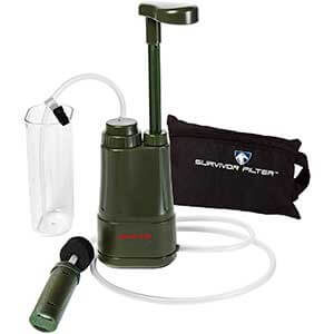 Survivor Filter PRO Water Filter, 0.01 Micron