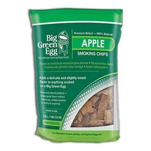 Big Green Egg Smoking Chips Apple