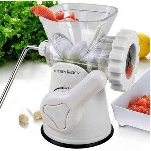 Kitchen Basics 3-in-1 Meat Grinder and Vegetable Grinder