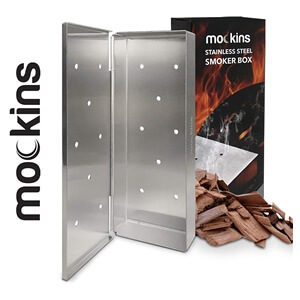 Mockins Stainless Steel BBQ Smoker Box