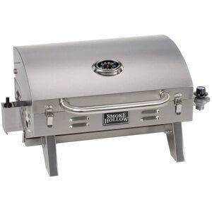 Smoke Hollow Stainless Steel Tabletop Gas Grill
