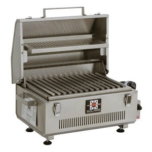 Solaire Anywhere Portable Stainless Steel Grill