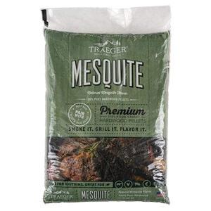 Traeger Grills PEL305 Mesquite 100% All-Natural Hardwood Pellets