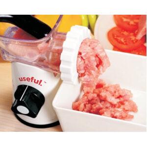 Useful Manual Meat Grinder, Mincer, and Pasta Maker