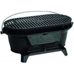 Lodge L410 Pre-Seasoned Sportsman's Charcoal Grill