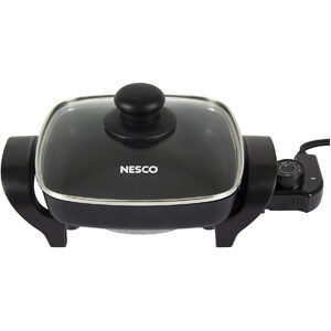 Nesco, Black, ES-08, Electric Skillet, 8 inch