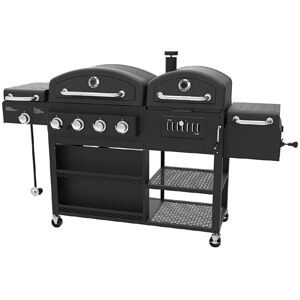 Smoke Hollow 4-In-1 Gas Charcoal Grill Smoker