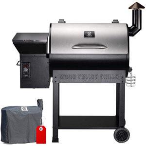 Z GRILLS ZPG-7002E Wood Pellet Grill & Smoker