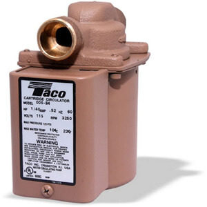 Taco 006-B4 Bronze Circulator Pump