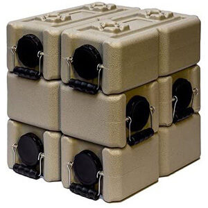 WaterBrick Tan Water Storage Container