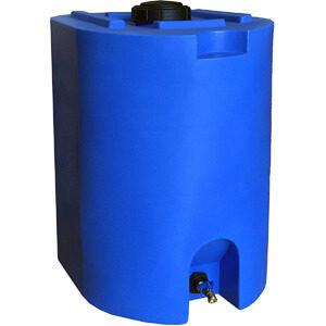 WaterPrepared Blue 55 Gallon Water Storage Tank