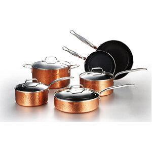 COOKSMARK 10 Piece Cookware Set