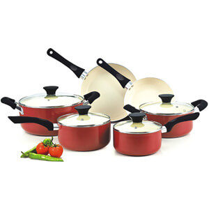 Cook N Home NC-00359 10-Piece Cookware Set