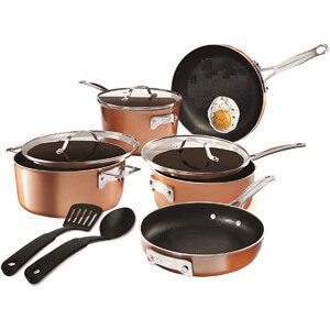 Gotham Steel Stackmaster Cookware Set