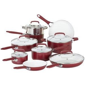 WearEver 2100087606 Ceramic Cookware Set