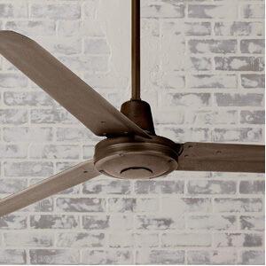 60″ Turbina Modern Industrial Outdoor Ceiling Fan