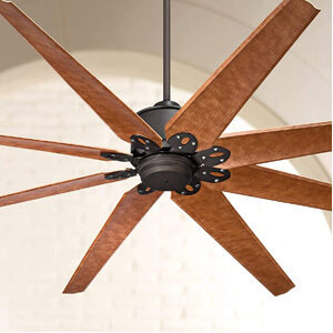 72″ Predator Outdoor Ceiling Fan with Remote Control