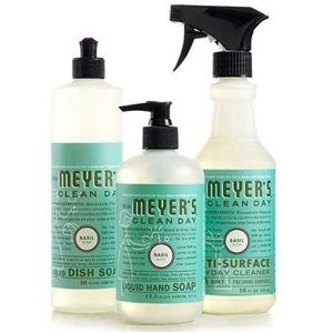 Mrs. Meyers Clean Day Basil Kitchen Basics