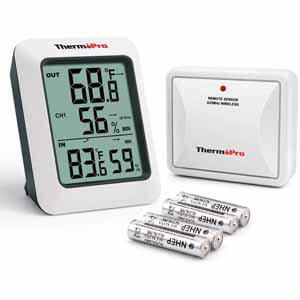 ThermoPro TP50 Digital Hygrometer Indoor Thermometer