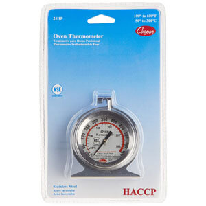 Cooper-Atkins Stainless Steel Oven Thermometer