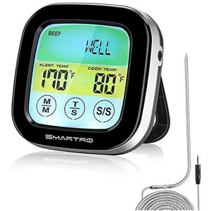 SMARTRO ST59 Digital Meat Thermometer for Oven