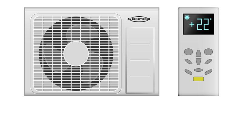 Window AC Fan