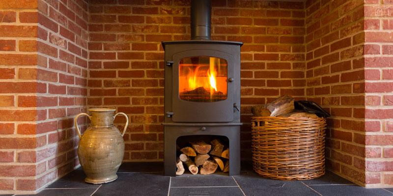 Burning Temperature of Wood
